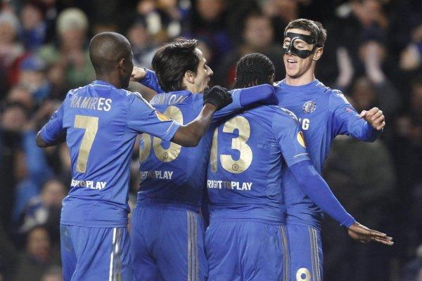Torres marcó dos goles al Rubin Kazan