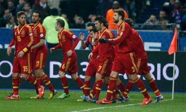 España sigue liderando el Ranking FIFA