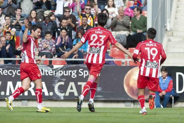 El Girona se reafirma en la segunda posición
