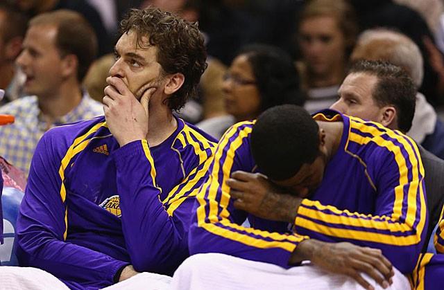 Lakers eliminados, se acaba la temporada para Pau Gasol.