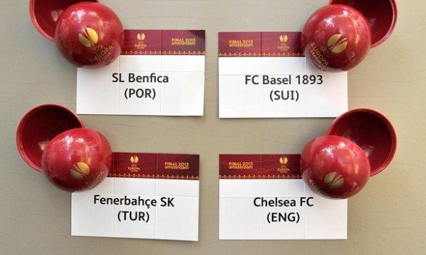Sorteo de semifinales de la Europa League