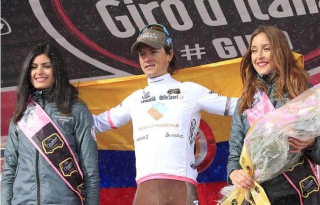 El colombiano Betancur fue el mejor joven del Giro 2013
