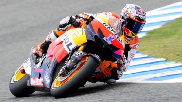 Casey Stoner, ultimo ganador en Jerez en MotoGP