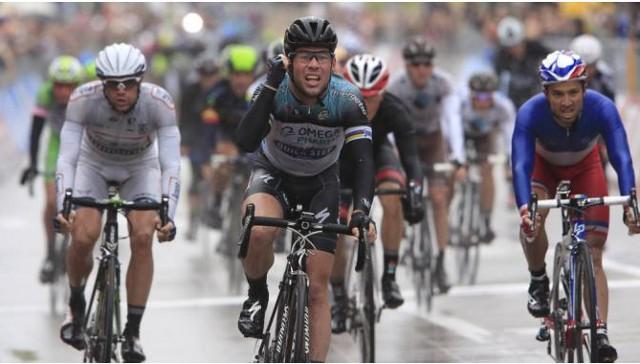 Cavendish alcanza las 100 victorias como profesional