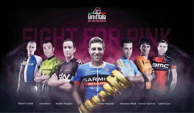 Lista de principales favoritos a ganar el Giro de Italia 2013