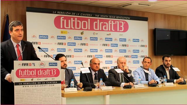 Elección de los ganadores de los premios Fútbol Draft de 2013