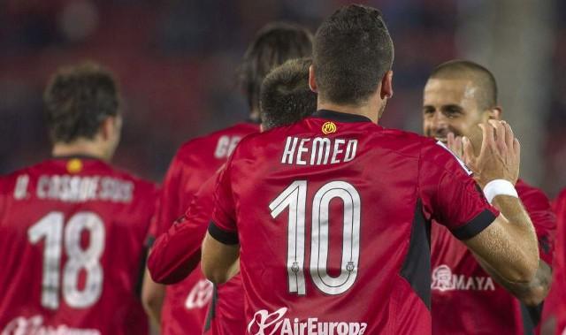 Un gol de Hemed evitó el descenso matemático del Mallorca en la Joranda 36