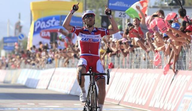 Paolini gana la tercera etapa del Giro 2013