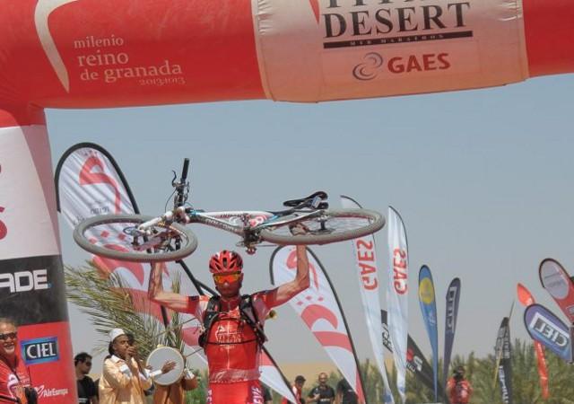 Luis Leao Pinto ganó la Titan Desert 2013