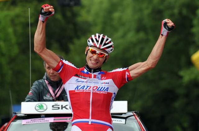 El ruso Belkov estrenó su palmarés ganando una etapa del Giro de Italia 2013
