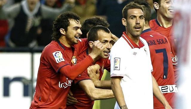Osasuna aseguró la permanencia en la penúltima jornada