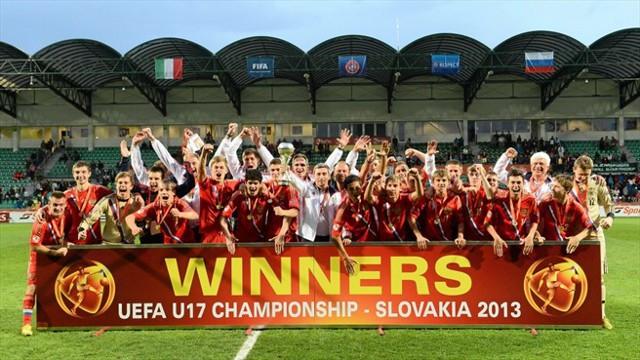 Rusia campeona de Europa sub 17 de fútbol