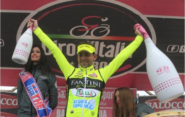 Victoria de Santambrogio en la decimocuarta etapa del Giro 2013