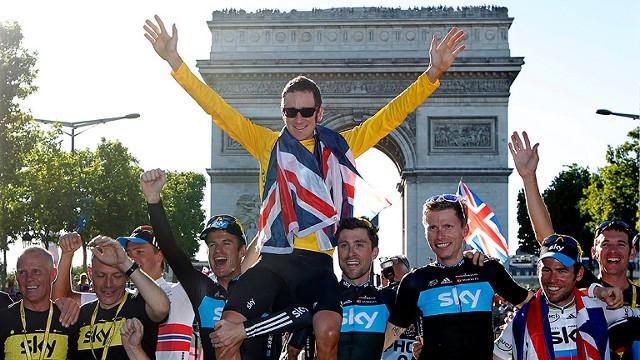 La imagen de Wiggins de amarillo en París no se repetirá en 2013