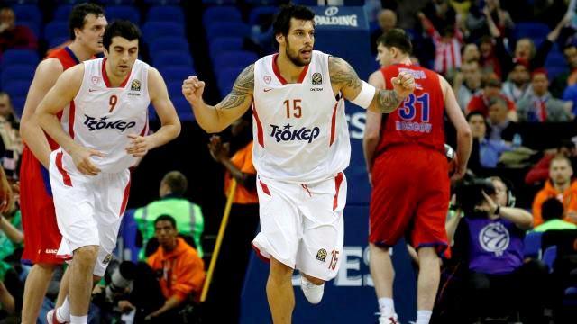 Euroliga 2012/2013 Final Four: El Olympiacos da la sorpresa y deja fuera al CSKA