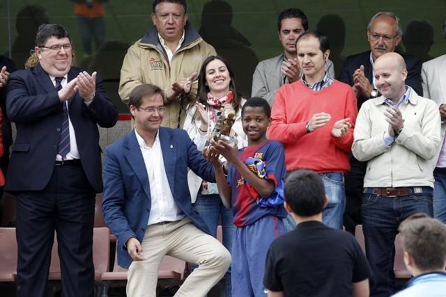 El delantero Ansu fue el máximo goleador del Torneo Alevín