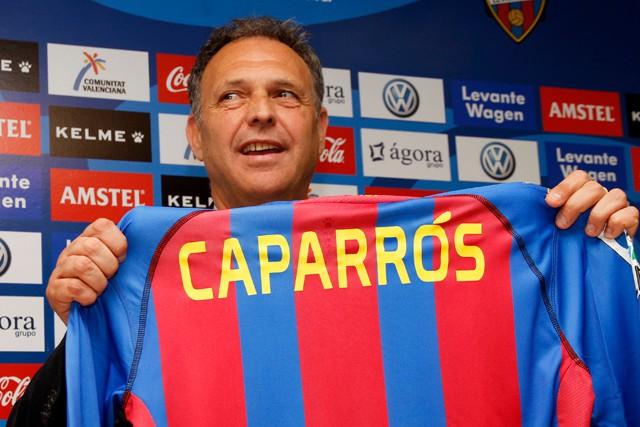 Joaquín Caparrós, nuevo técnico del Levante