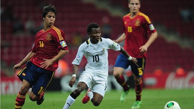 España sufre para derrotar a Ghana en el Mundial sub 20