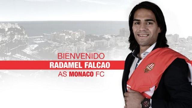 Falcao jugará en el Mónaco la próxima temporada