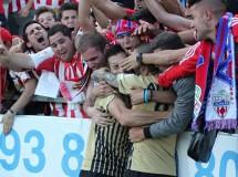 Playoffs ascenso a Primera 2013: Almería gana en Girona y toma ventaja