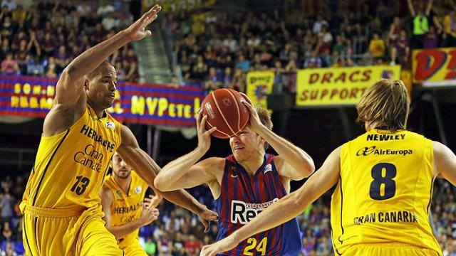 Liga Endesa ACB Playoff 2013: el Barcelona jugará la final ante Real Madrid tras eliminar a Gran Canaria
