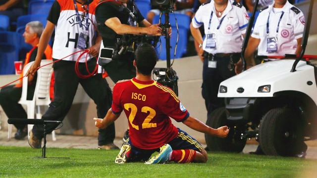 Isco es el líder de la selección sub 21