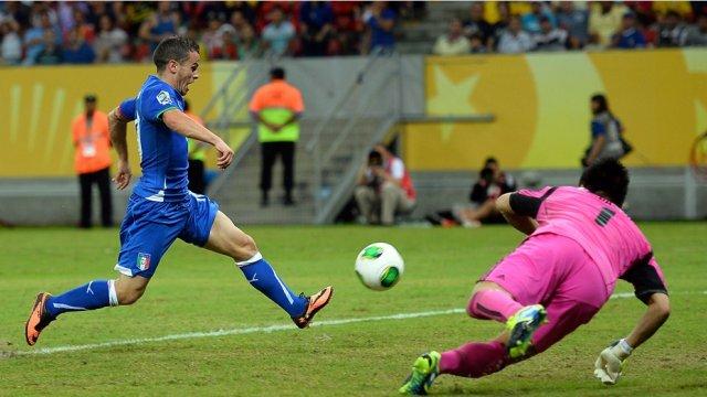 Giovinco marcó el gol de la victoria para Italia ante Japón