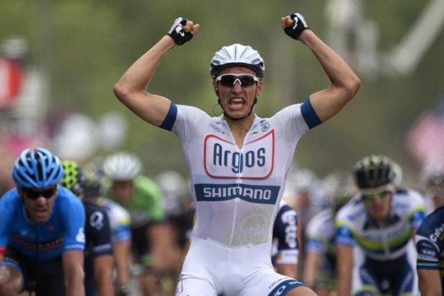 Kittel es el primer líder del Tour 2013