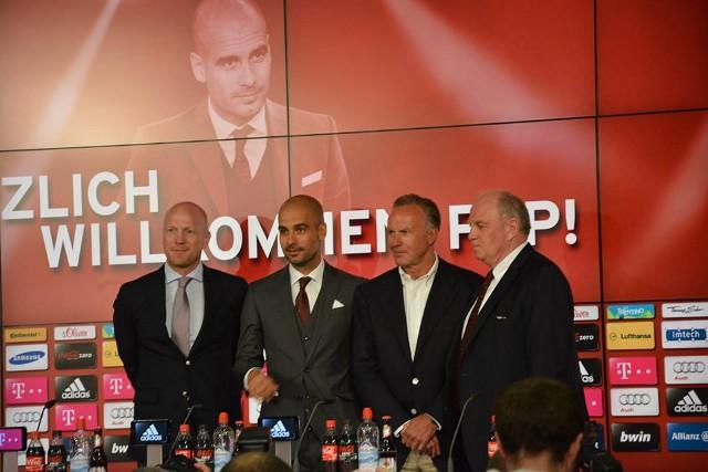 Comienza la era Pep Guardiola en el Bayern Munich
