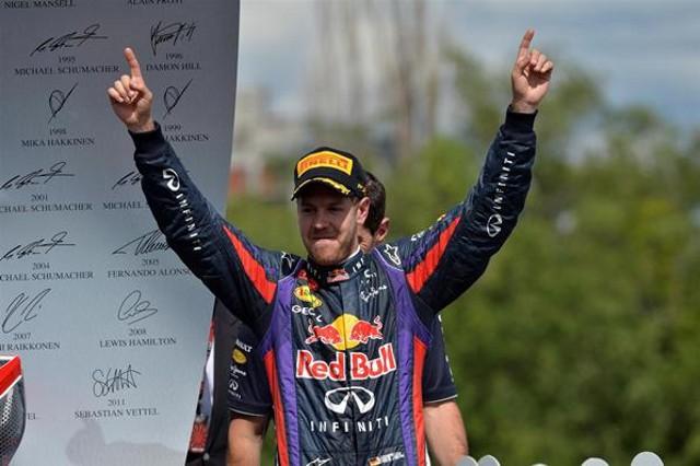 Vettel seguirá en Red Bull hasta 2015