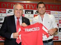 El Almería tendrá al entrenador más joven de Primera, Francisco
