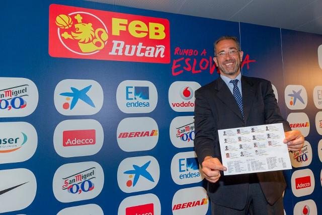 Juan Antonio Orenga dimite como seleccionador español de baloncesto