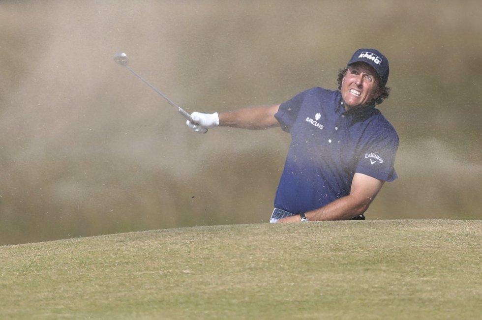 US Open Golf 2013: Horschel y Mickelson lideran tras dos caóticos recorridos