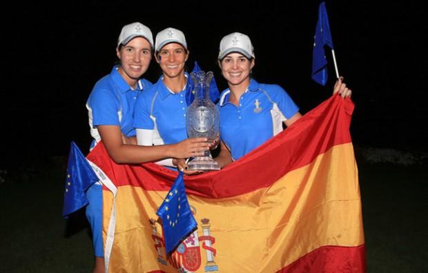 Carlota-Ciganda-Azahara-Muñoz-Beatriz-Recari-Solheim-Cup