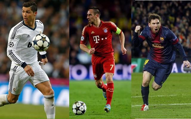 Los tres candidatos a ganar el premio de mejor jugador de la UEFA