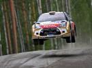Rally de Finlandia: Neuville lidera después de la primera jornada, Dani Sordo es 9º
