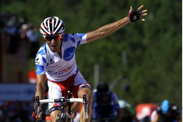 Dani Moreno ganó la cuarta etapa de la Vuelta 2013
