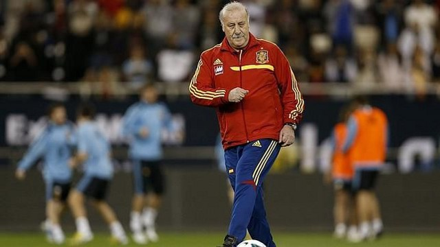 Vicente Del Bosque, seleccionador español de fútbol