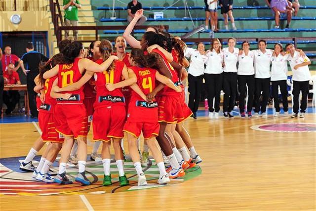 La U18 también ganó el oro en el Europeo