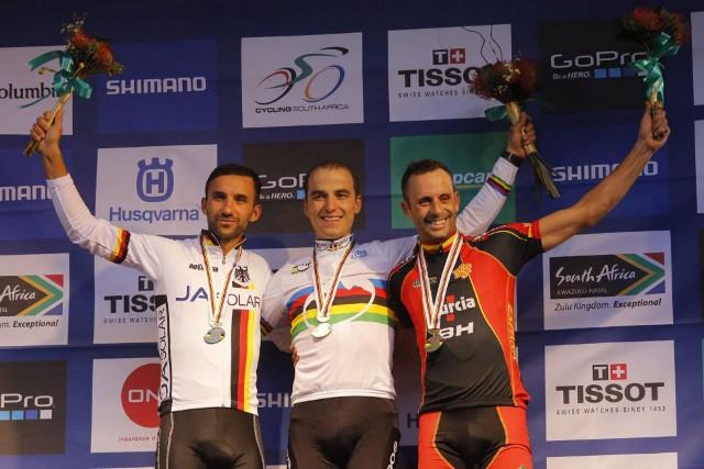 Hermida gana un bronce en los Mundiales de Mountain Bike 2013