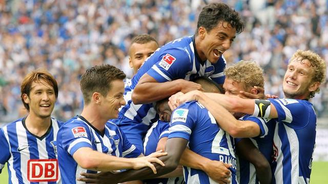 El Hertha es el primer líder de la Bundesliga