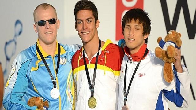 Israel Oliver ha sido una de las estrellas del Mundial de natación para discapacitados