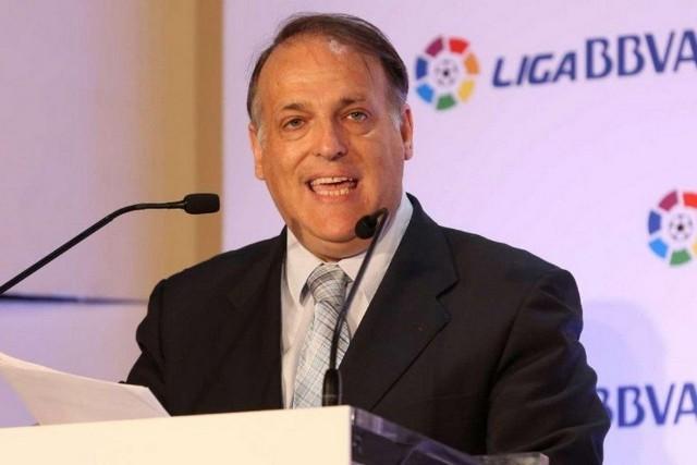 Javier Tebas es el presidente de la LFP