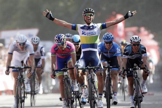 Matthews ganó la etapa con final en el Lago de Sanabria