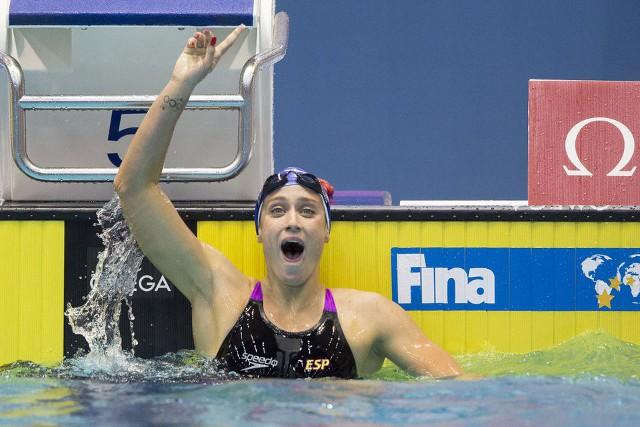 Mireia ha batido dos récords mundiales en dos días