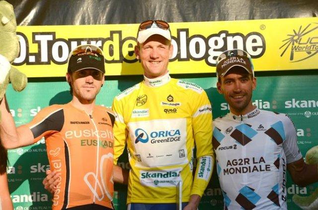 Weening, Izagirre y Riblon, podio del Tour de Polonia 2013