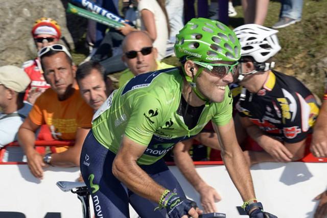Valverde ganó la clasificación de la regularidad de la Vuelta a España 2013