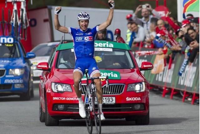 Geniz venció la etapa 15 de la Vuelta a España 2013