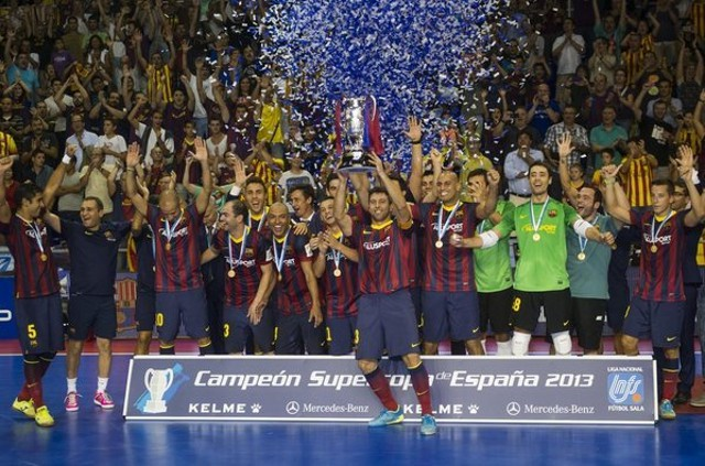 Barcelona Alusport ganó su primera Supercopa de España de fútbol sala