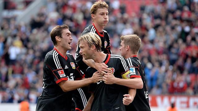 Leverkusen no pierde la estela de la cabeza en Bundesliga